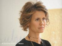 Asma al-Assad (photo: AP)
