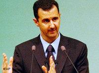 Bashar al-Assad (photo: AP)