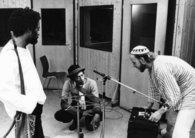 Nana Vasconcelos, Don Cherry, Collin Walcott, musical pioneers (photo: Roberto Masotti/ECM)
