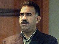Abdulla Öcalan during his trial (photo: AP)