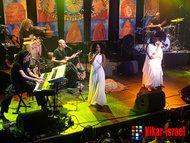 The Idan Raichel Project live on stage (photo: Kikar-Israel)