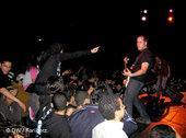 Metal fans enjoying a concert (photo: Arian Fariborz)