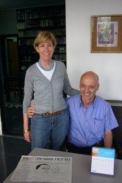 Gabriel and Michal Rosenbaum (photo: Amira El Ahl)