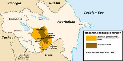Map Nagorny Karabakh (source: Wikimedia Commons)