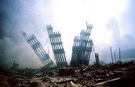 Ground Zero, New York on 9/11 (photo: AP)