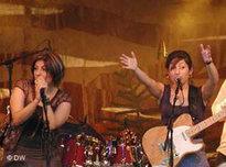 Iranian rock band Abjeez (photo: DW)