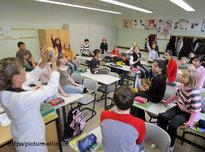 Class room in Germany (photo: picture-alliance/dpa)