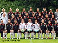 German Under-21 team photo (photo: dpa)