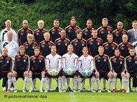 German Under-21 team photo (photo: dpa)