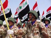Parade of Iraqi army in Amarah (photo: AP)