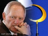 Wolfgang Schäuble, Germany's Minister of the Interior (photo: AP/DW)