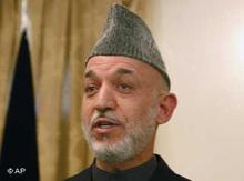 Hamid Karsai, photo: AP