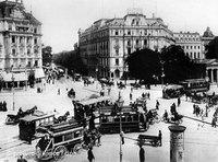 Berlin, Potsdamer Platz, around the turn of the century (photo: picture-alliance/dpa)