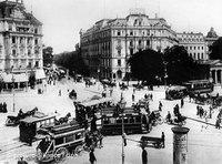 Berlin, Potsdamer Platz, around the turn of the century (photo: picture-alliance/dpa)