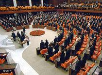 The parliament in Ankara (photo: AP)