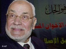 Supreme Guide Mohammed Mahdi Akef (photo: AP)