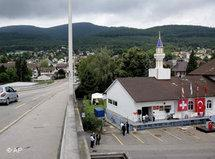 Mosque near Wangen, Switzerland (photo: AP)