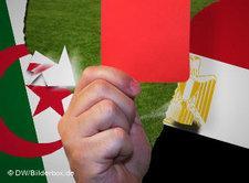 Football War Algeria Egypt (photo/image: DW)