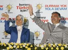 Abdullah Gül and his wife Hayrünnisa (photo: AP)