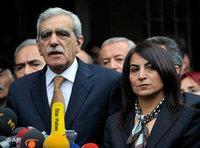 Ahmet Türk and Aysel Tugluk (photo: AP)
