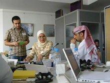 Publishers' Training workshop in Abu Dhabi (photo: Gabriele Rubner)