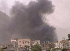 Combat zone in Northern Yemen (photo: AP)