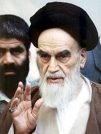 Revolutionary leader Ayatolah Khomeini (photo: AP)