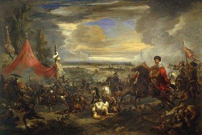 Battle of Vienna, painting Jan Wyck 1698 (photo: wikipedia)