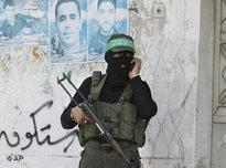 Hamas militiaman (photo: AP)