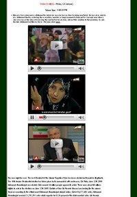 Screen shot website Mousavi (source: www.mir-hosseinmousavi.com)