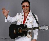 Turkish Elvis impersonator Nevrez Caliskan (photo: Nevrez Caliskan)