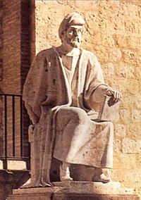Statue of Averroes in Cordoba (photo: Wikimedia Commons)