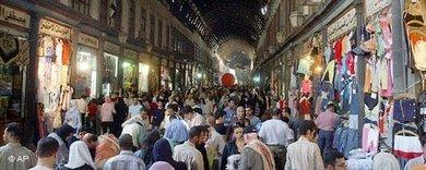 Souq Hamidiyyeh in Damascus, Syria (photo: AP)