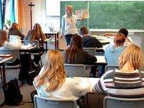 Classroom in Paris, France (photo: AP)