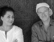 Amina Alaoui and Jon Balke (photo: ECM)