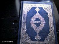 Albanian Edition of the Quran (photo: DW)