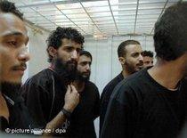 Suspect al-Qaeda terrorists in Yemen (photo: picture-alliance/dpa)