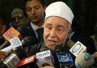 Mohammed Sayed al-Tantawi, the Grand Sheikhk of Al Azhar University (photo: AP)