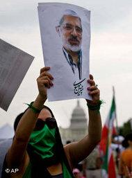 Protest against the Iranian regime (photo: AP)