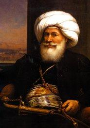 An 1840 portrait of Muhammad Ali Pasha by Auguste Couder (source: Wikipedia)