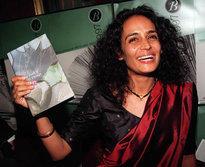 Arundhati Roy (photo: AP)