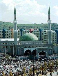 Mosque in Sarajevo (photo: AP)