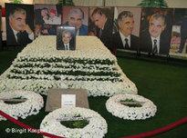 Memorial service for Rafik Hariri (photo: AP)