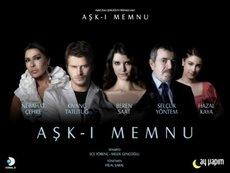 Poster of Turkey's biggest hit television series (Forbidden Love)