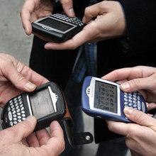 Mobile phones (photo: AP)
