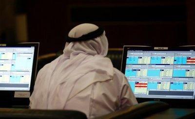 The Dubai stock exchange (photo: AP)