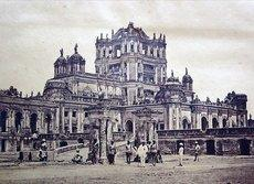 La Martinière College in Lucknow in 1858 (photo: Felice Beato, source: Wikipedia)
