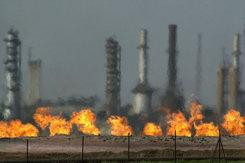 Oil refinery in Iraq (photo: AP)