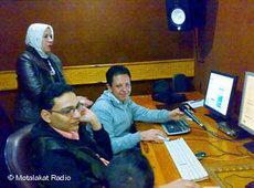 Editorial staff (photo: &copy Motalakat Radio)
