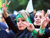 Green movement protestors in Iran (photo: dpa)